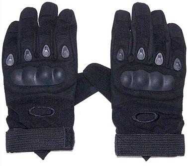 Тактические полнопалые перчатки Oakley, чёрные