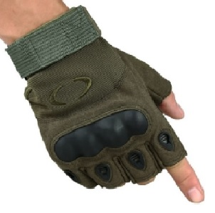 Беспалые перчатки Окли олива
