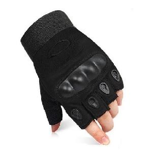 Беспалые-перчатки-Окли-чёрные