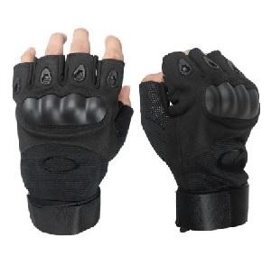 Беспалые перчатки Oakley, чёрные