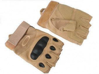 Тактические беспалые перчатки Oakley
