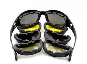Тактические очки Daisy C5 4 стекла