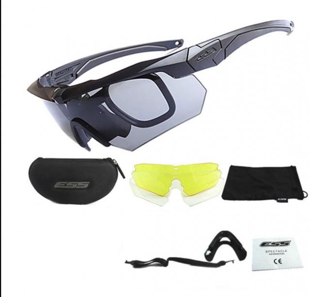 Тактические очки ESS Crossbow 3 линзы