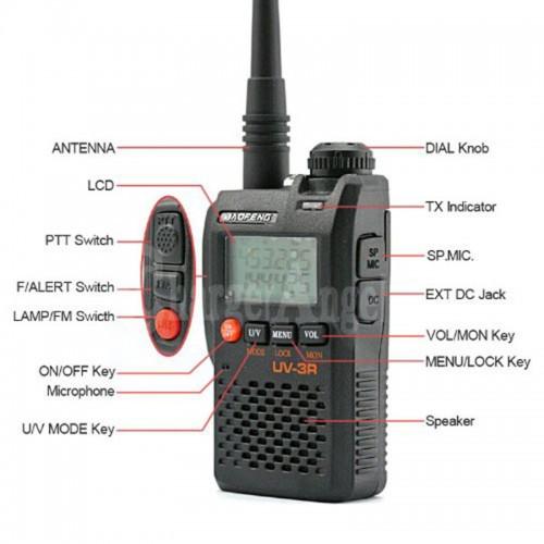 Радиостанция Baofeng UV-3R